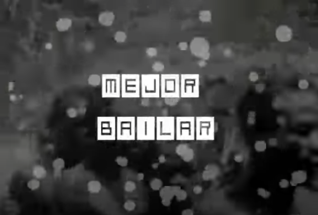 Basso Mejor Bailar
