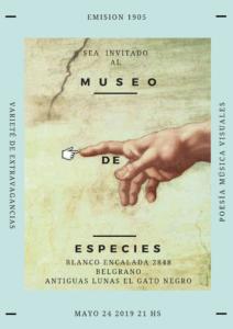 Museo de especies - video poesía