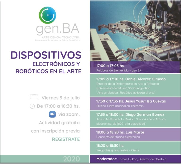 Gen BA Arte Ciencia y Tecnología